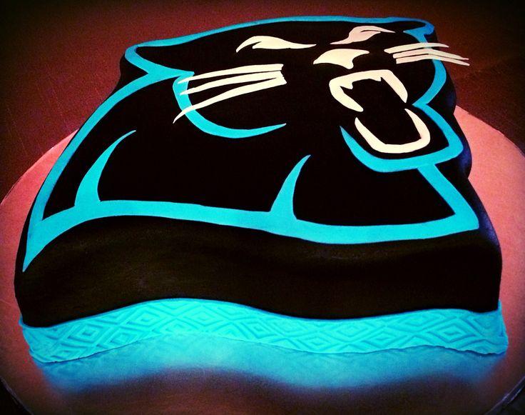Carolina Panthers Birthday Cake