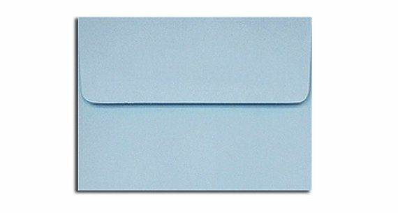 20 Light Blue Envelopes In A7 A6 A2 A1 Sizes In 2019 Blue Envelopes Colored Envelopes Envelope