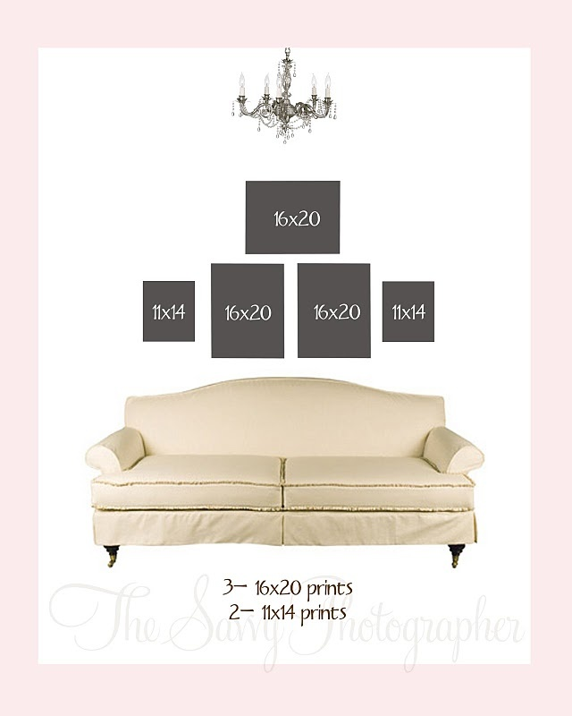 cute picture frame layout