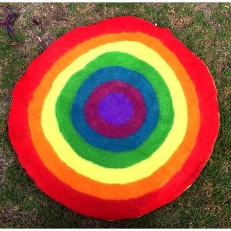 Rainbow Rug -Available for Immediate Delivery