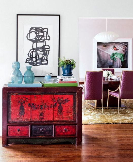 Cool side table with lots of personality: Side Tables, Decor Ideas, Desks, Magic Decor, Busken Photo, Nooks Blog