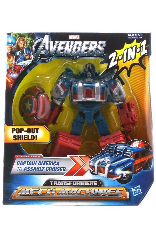 eXpertComics offers a wide choice of products, like the Avengers: Transformers Mech Machines Series Captain America Action Figure. Visit eXpertComics' website to discover thousands of collectibles.