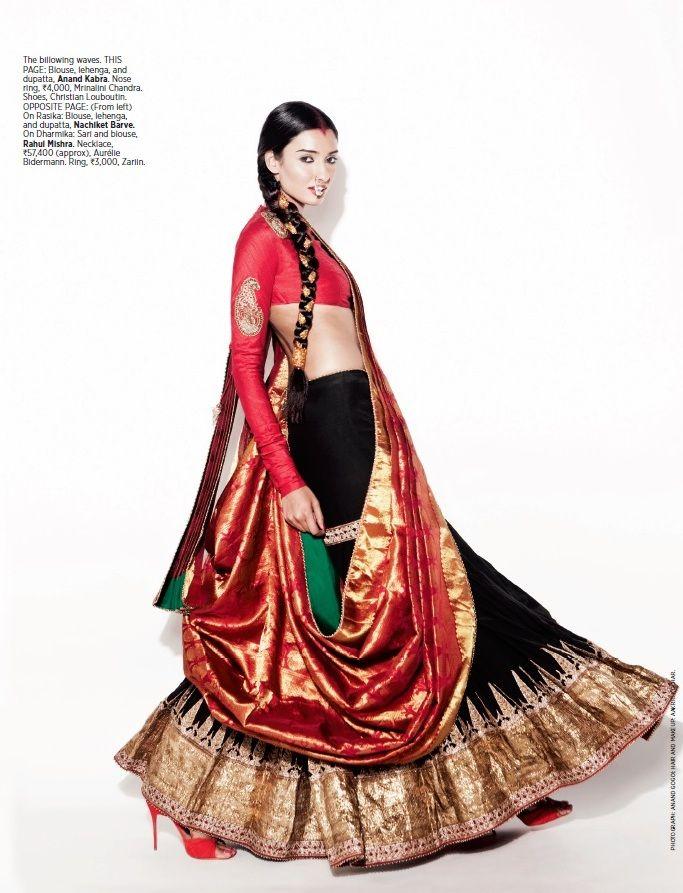 The Red Brigade  Bazaar Bride Fashion March `14