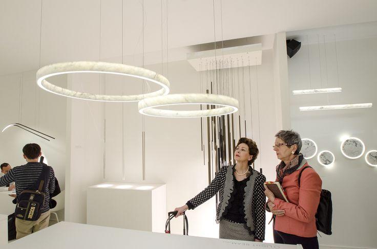 Inarchi stand, Euroluce 2017 #luxury #lighting #design #LED #LEDlamp #minimalist #interior #homedecor #Euroluce #Euroluce2017 #exhibition #Inarchi