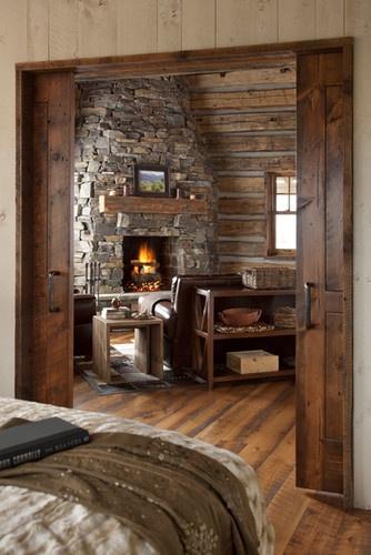 Family Cabin Retreat - traditional - bedroom - phoenix - Swaback Partners, pllc