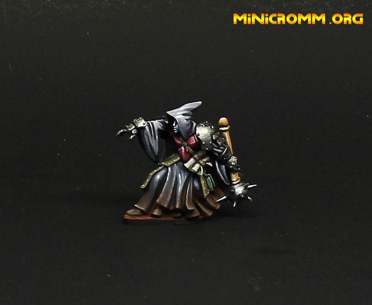 Reaper miniatures Death priest painted.