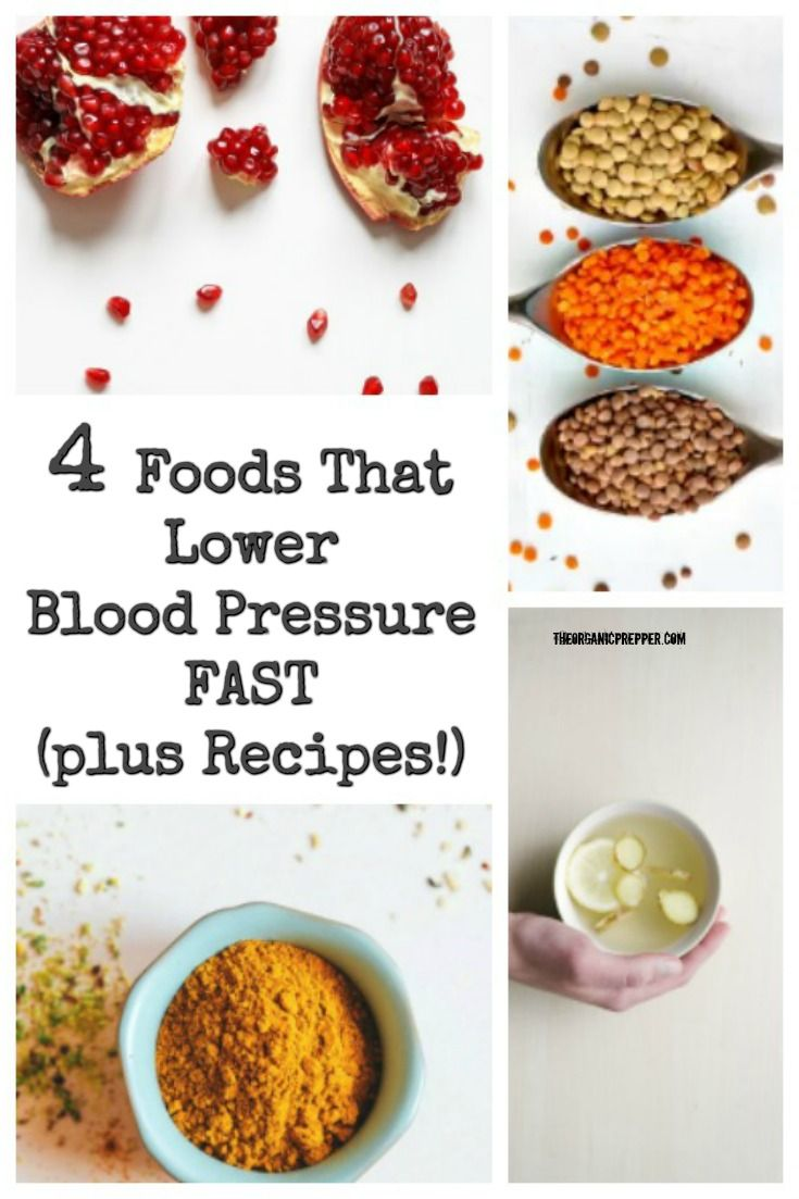 how to decrease blood pressure fast