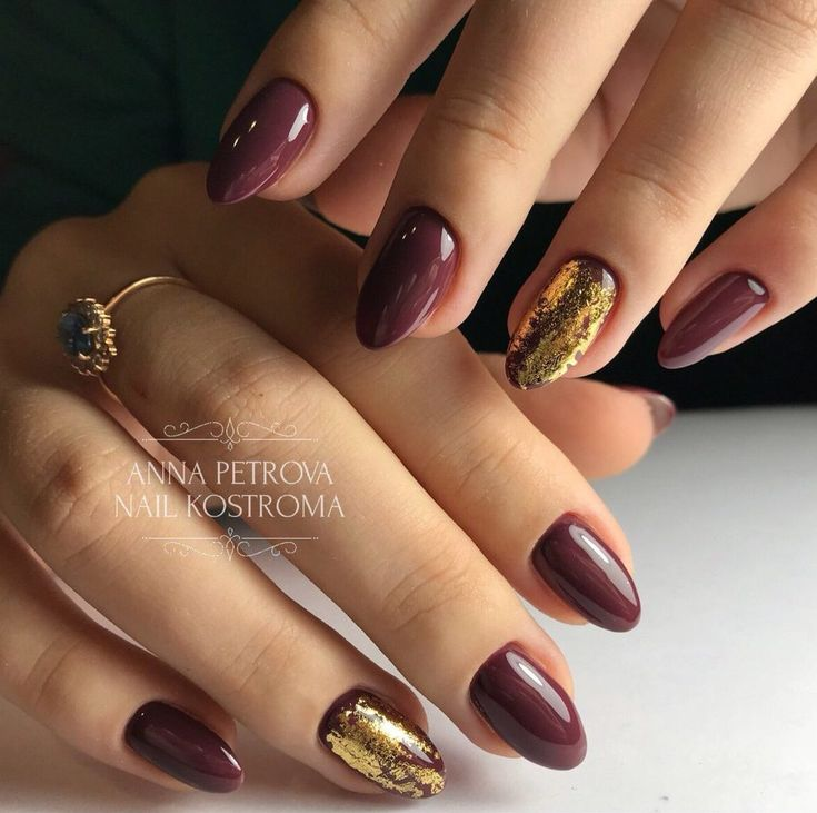 Nail Art Marron Simple: 25+ Unique Maroon Nails Ideas On Pinterest