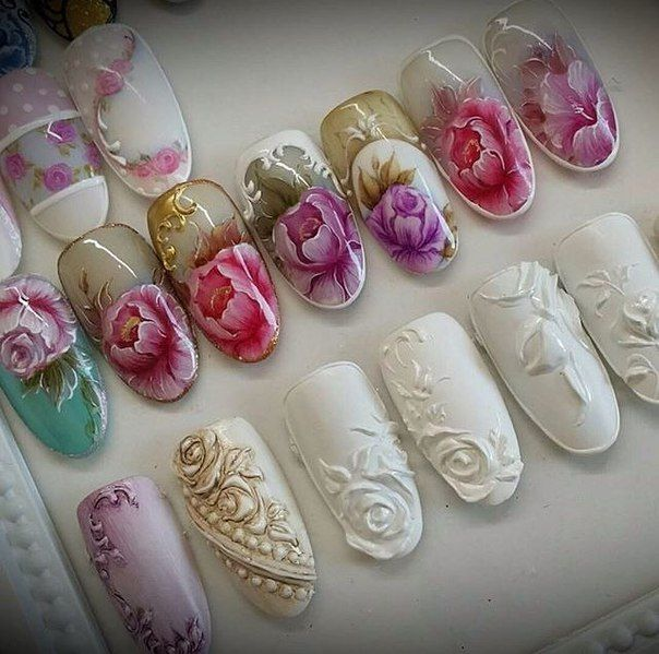 577 best 3d nail art images on pinterest nail art 3d nails and art simple nail one stroke prinsesfo Choice Image