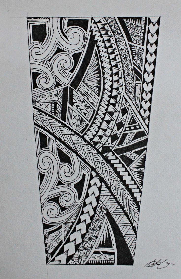 Samoan Tribal Band Tattoos #Samoantattoos