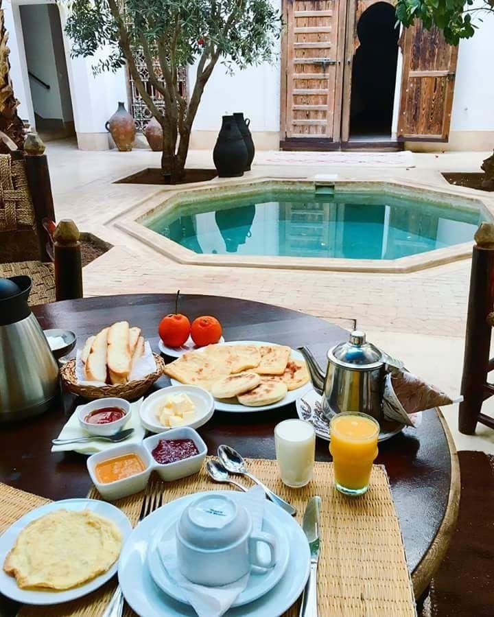 desayuno Desayuno Comida Marruecos