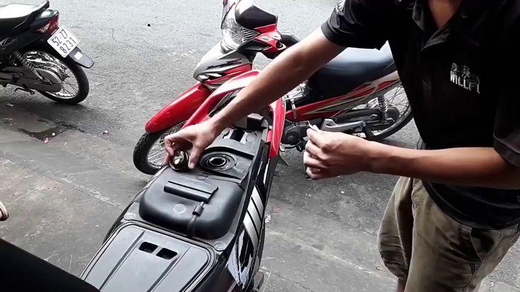 Phụ gia Ecoburn vệ sinh buồng đốt xe máy xử lý muội than carbon