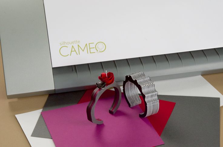Suzanne McNenly will also show you how to create a beautiful paper cuff bracelet made from using the Silhouette machine. https://www.craftcast.com/recordings/silhouette-cutter-how-basics-and-beyond-suzanne-mcnenly  #silhouette cutter, #jewelry making