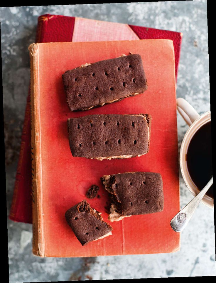 You'll never look at a bourbon the same way! Chocolate Bourbons from Miranda Gore Browne. (chocolate biscuits british)