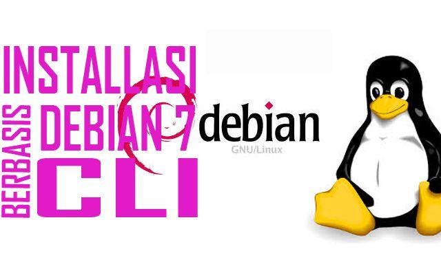 Installasi Dan Konfigurasi Debian 7 Berbasis CLI Read More >>> http://rumahwacana.com/blog/installasi-dan-konfigurasi-debian-7-berbasis-cli