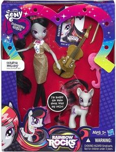Mlpeg Derpy Rainbow Rocks News | ... Little Pony Equestria Girls Rainbow Rocks Doll & Pony Set Octavia New
