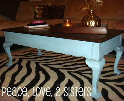 ideas on how to redo my coffee table 3