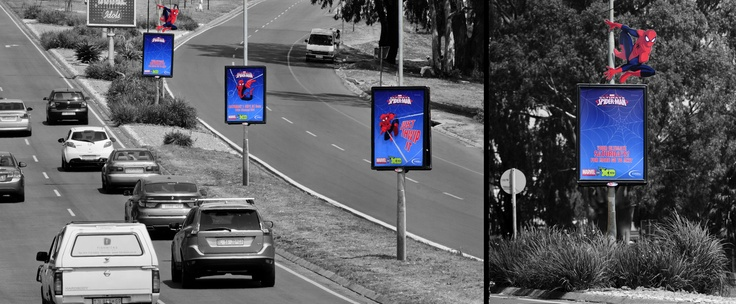 "How brilliant is this campaign by AdReach for Posterscope? With the launch of the brand new Spiderman series on 01 September , we wanted maximum reach and frequency and with this Street Pole campaign, we got it. Spiderman seemingly jumping from pole to pole made complete conceptual sense. It met the brief we got from Disney in a big way"", said Donald Mokgale, OOH Strategist from Posterscope."