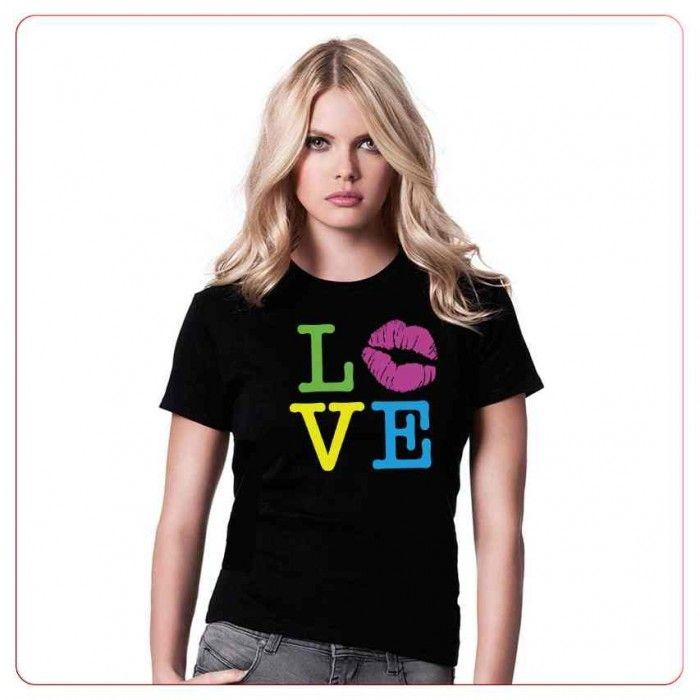Cadouri pentru indragostiti – Tricou L-O-V-E