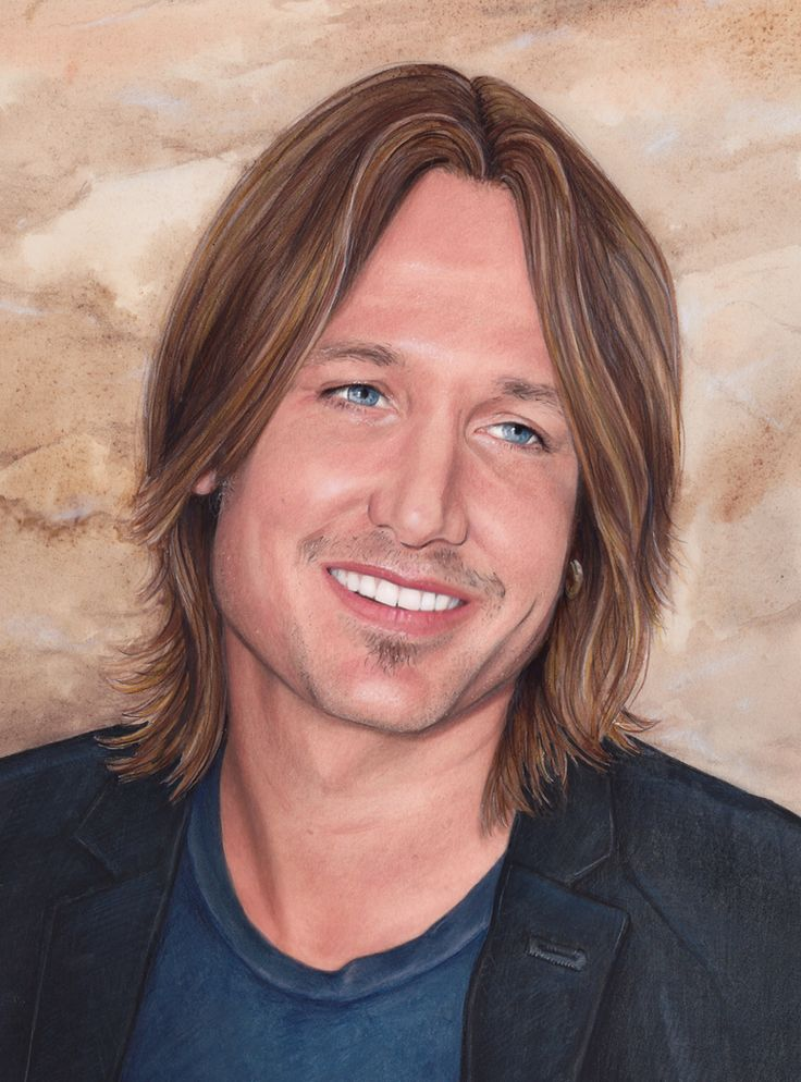 My finished artwork of country legend and hottie, Keith Urban - created with watercolour and pencils. Prints, tshirts, phone cases, bags etc, are now available for my shop www.redbubble.com/shop/dacdacgirl