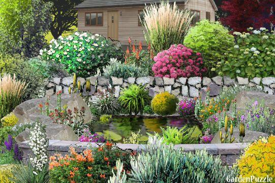 little pond - GardenPuzzle - online garden planning tool