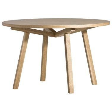 table haute forme ronde en bois massif design scandinave par sean dix 4 6 personnes salle