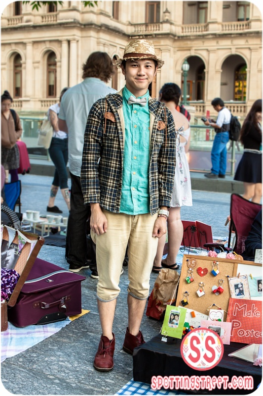 SPOTTED: Taiwan trip anyone? Click the photo to see Brisbanes favorite fashion blog!!