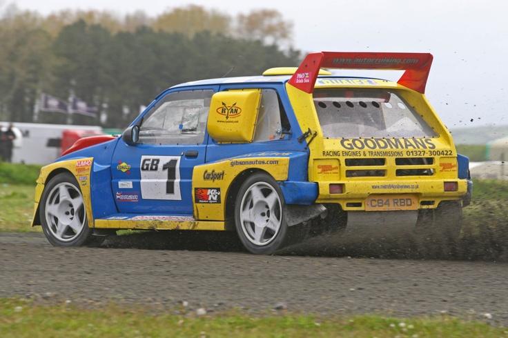 MG Metro 6R4 rallycross car