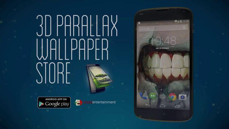 Android 3D Parallax Wallpaper (long version)
