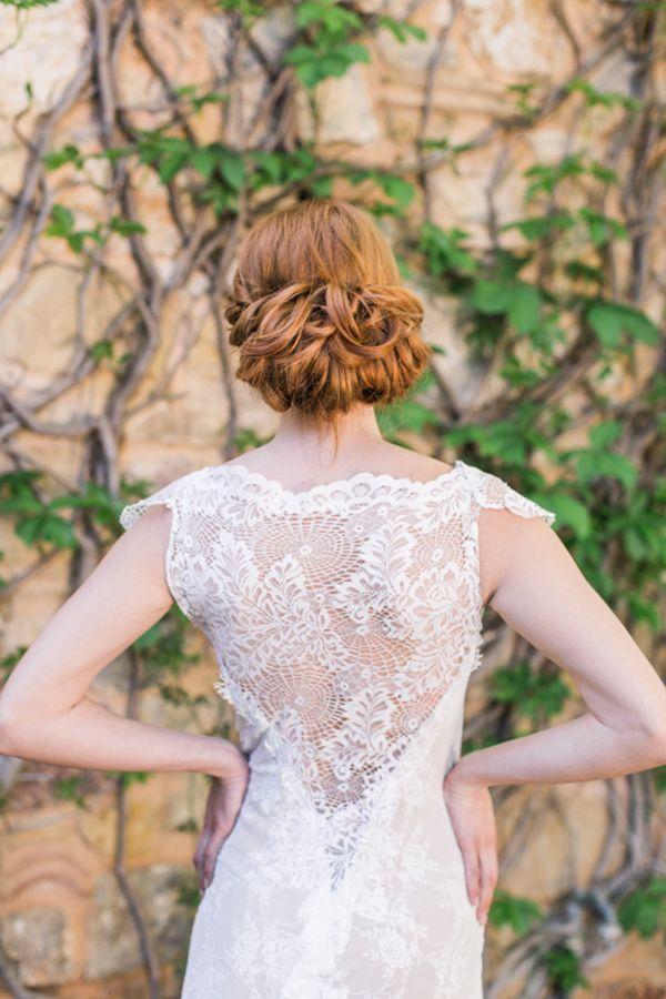 Χτένισμα νύφης, χαμηλό σινιόν