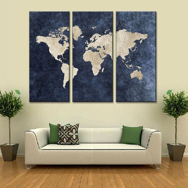 141 best New Arrivals! images on Pinterest Panel art, Homemade - new world map canvas picture