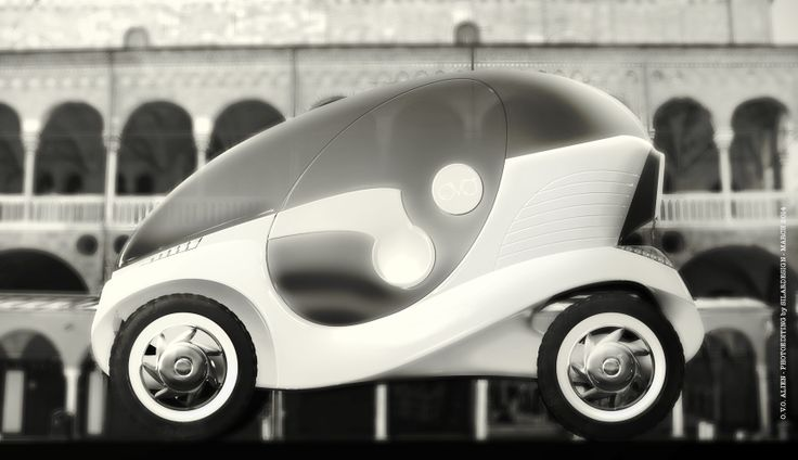 O.V.O. Alien - electric car in the city