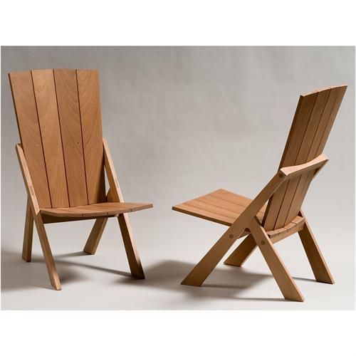 Transitional Outdoor Dining Chair from Rob Hare