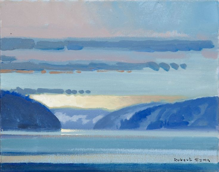 Robert Genn, «Matin Desolation Sound, le 27 mai 2010» à Mayberry Fine Art MATIN DESOLATION SOUND, LE 27 MAI 2010  ROBERT GENN Acrylique (11x14 in) 2010 3,800.00 $ y compris le cadre