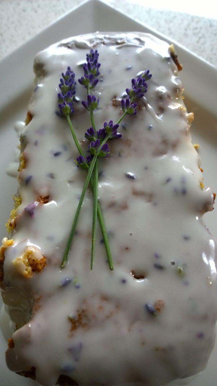 Lemon Lavendar Cake - Perfect for a summer high tea.