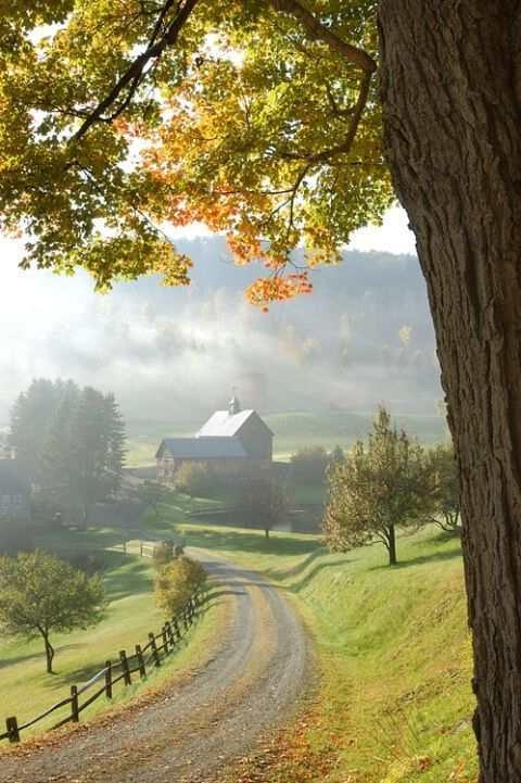 country road farms peace places cottage lovely gentleman dream
