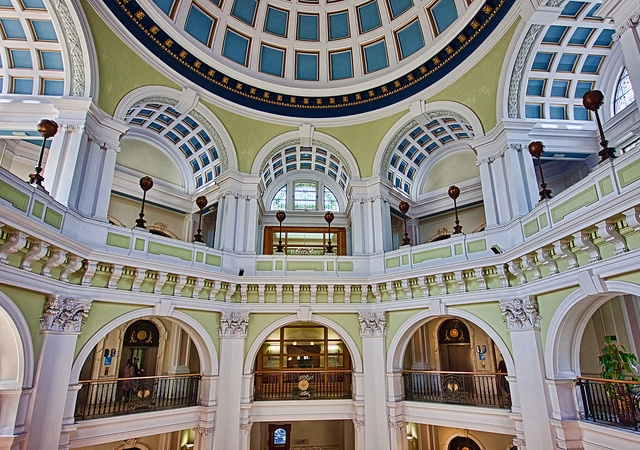 inside the Port of Liverpool building