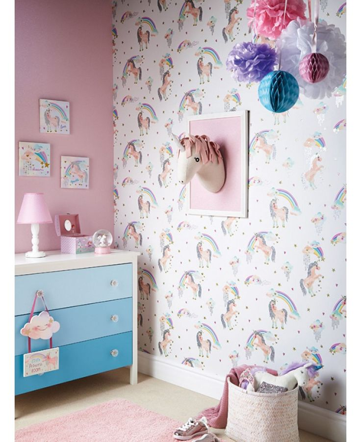 The Rainbow Unicorn Wallpaper by Arthouse will add a touch of magic to your  little one s   Girl Bedroom. The 25  best Glitter bedroom ideas on Pinterest   Glitter room