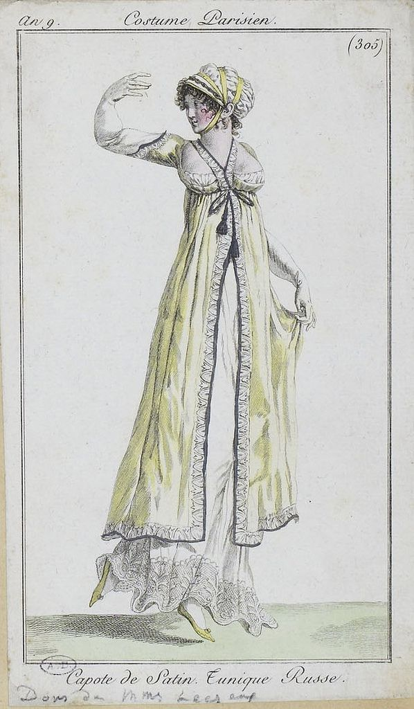 an 9 1801 costumes parisiens, by SceneInThePast