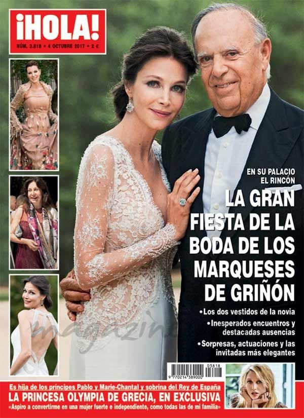 El Kiosko Rosa… 27 de septiembre de 2017: revista hola