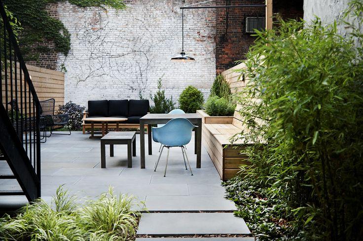 Bedford Stuyvesant Brownstone Landscape Project    NYC Garden Design