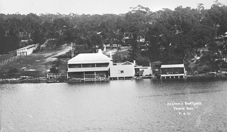'Diston's Boatshed, Yowie Bay', Kerry and Co, Sydney, Australia, c. 1884