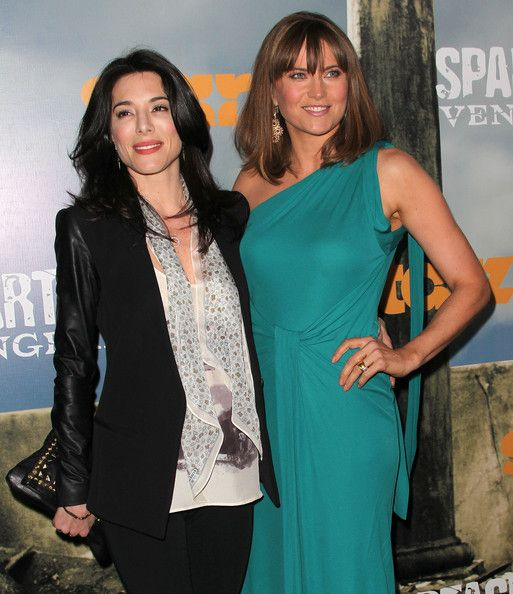 "Jaime Murray Photo - Premiere Of Starz' ""Spartacus: Vengeance"" - Arrivals. my two fav actresses in one frame x_x"