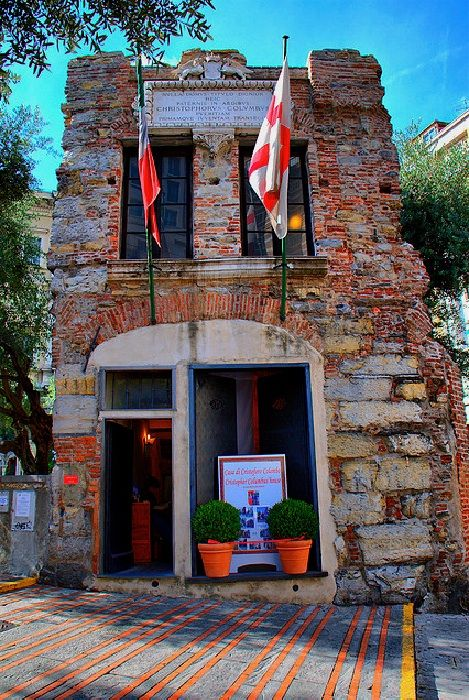 Genoa, Italy - House of Christopher Columbus - Cristoforo Colombo's museum - Photo by klausthebest