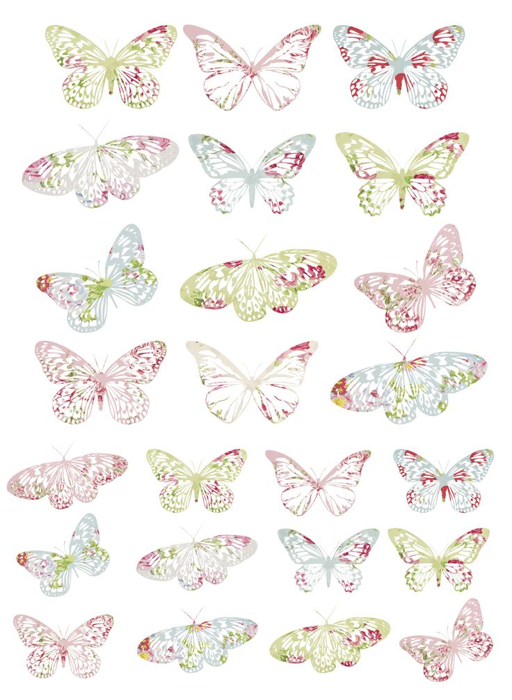 ╬ FREE printable Vintage Butterflies. Printed on glossy photo paper these tags are stunning. ╬ 03/22/14