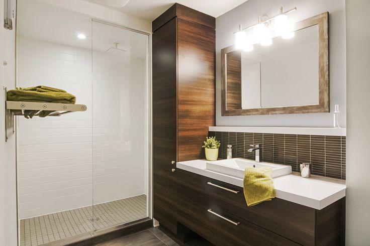 25 b sta photo salle de bain id erna p pinterest am nagement salle de bai - Amenagement salle de bain petite surface ...