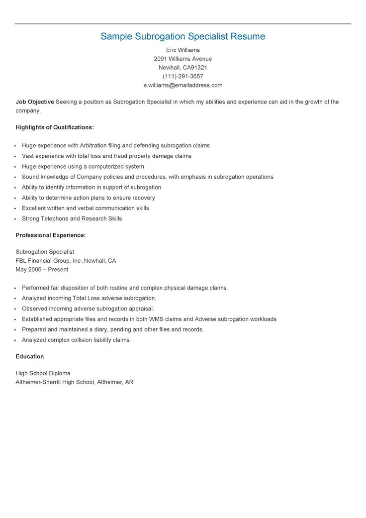 235 best resame images on Pinterest Website, Sample resume and - release of information specialist sample resume