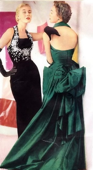 the black one! Christian Dior 1951