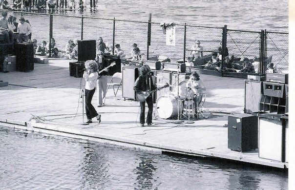 Led Zeppelin playing Green Lake aqua theater in Seattle