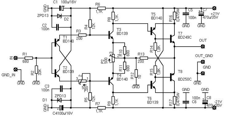 diamond circuit